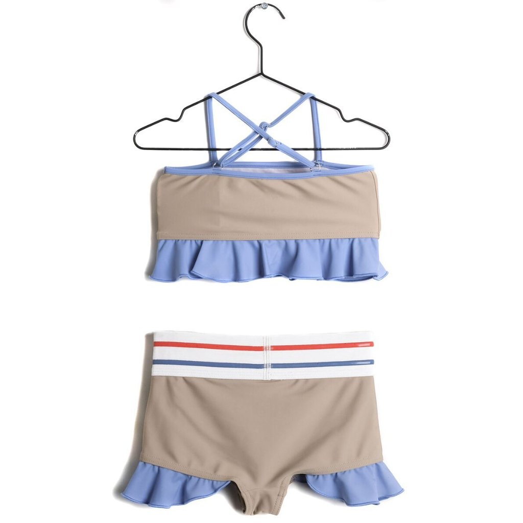 wolf & rita josefina bege two-piece swimsuit - free fast shipping on all orders over $99 from kodomo boston