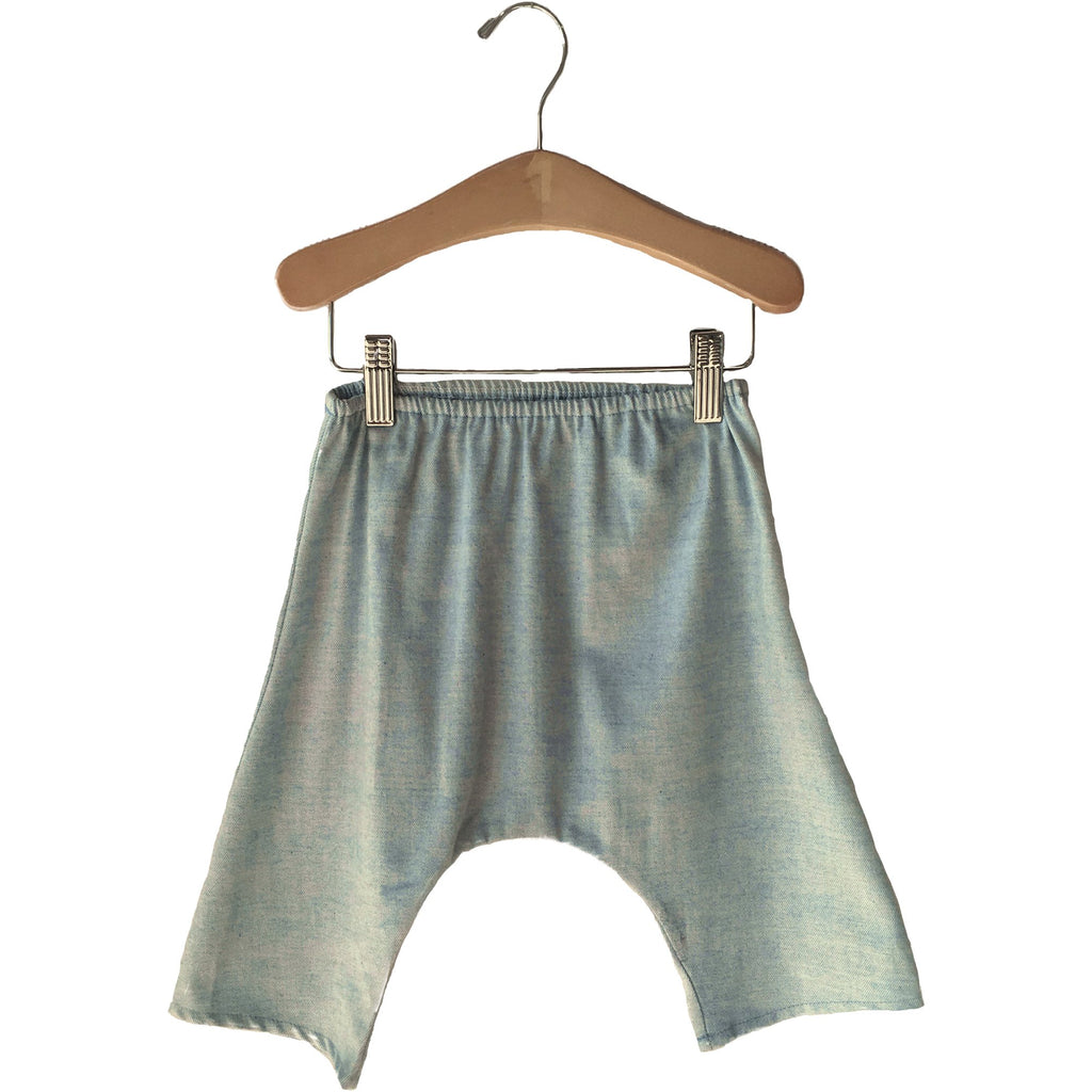 boy+girl harem baby blue pants - kodomo