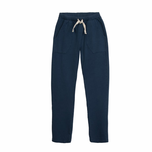 barn of monkeys sweatpants dark blue,  ethical and comfortable kids and tweens clothing for spring summer 2020 at kodomo boston, free shipping