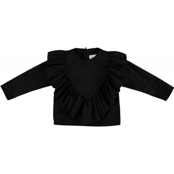 caroline bosmans face the future blouse black - kodomo boston. free shipping.