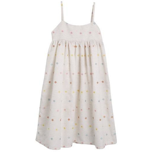the new society cecile dress off-white, girls summer dresses