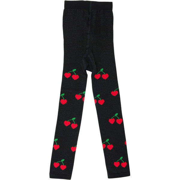 wauw capow by bangbang copenhagen true cherry tights - kodomo boston, free shipping.