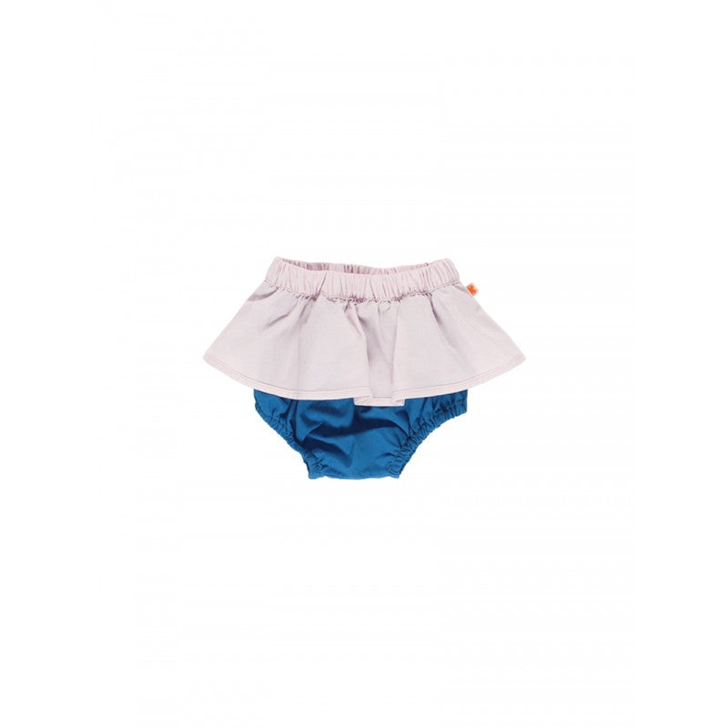 tinycottons pale pink color block bloomers - kodomo