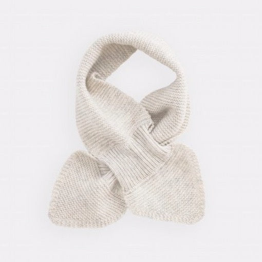 belle enfant twist scarf snow white, new fall winter fashion collection accessories for baby kids at kodomo boston, free shipping