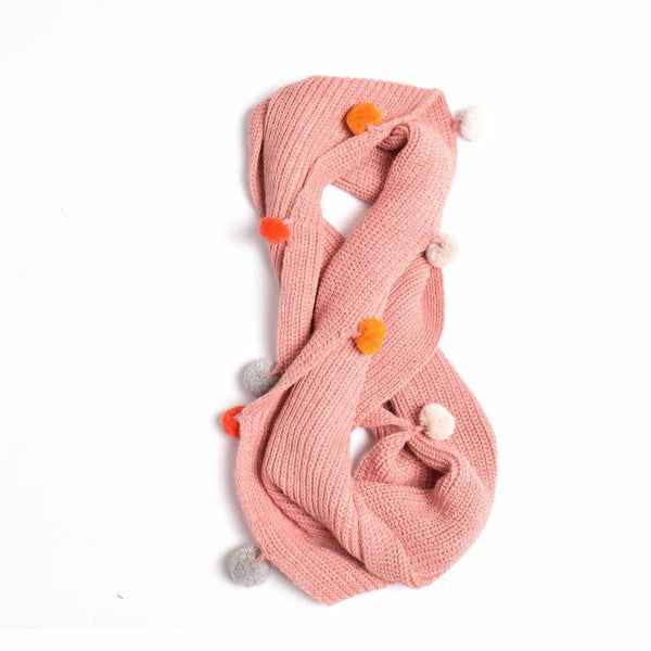 cabbages & kings ny double wrap infinity scarf pink - kodomo boston. free shipping.