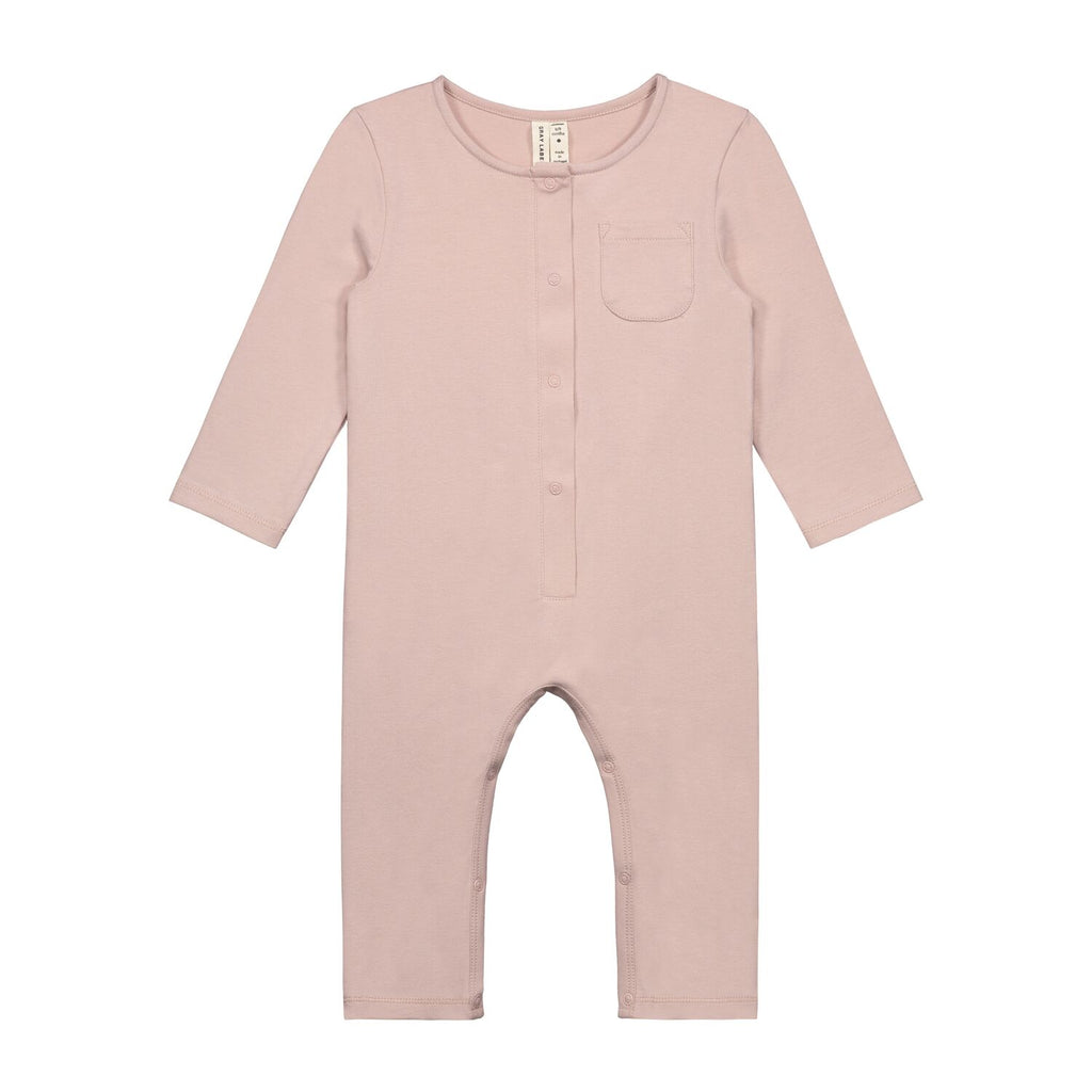 gray label baby suit vintage pink - kodomo