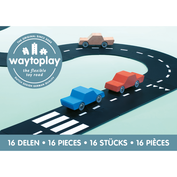 waytoplay toys, expressway highway track for cars vehicles for kids, free shipping kodomo boston