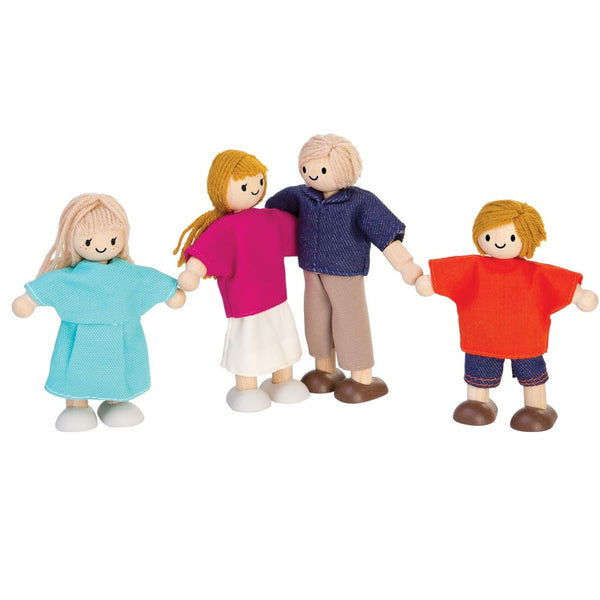 plantoys doll family, sustainable dolls for kids free shipping kodomo boston