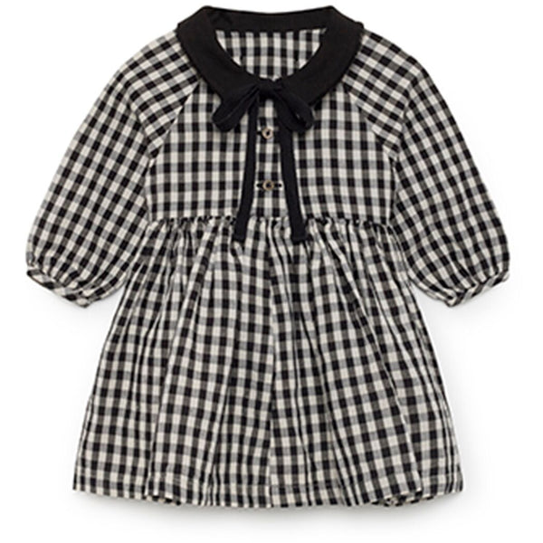 little creative factory baby checked dress - kodomo
