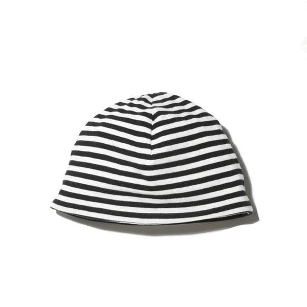 goat-milk baby beanie striped - kodomo boston. free shipping.