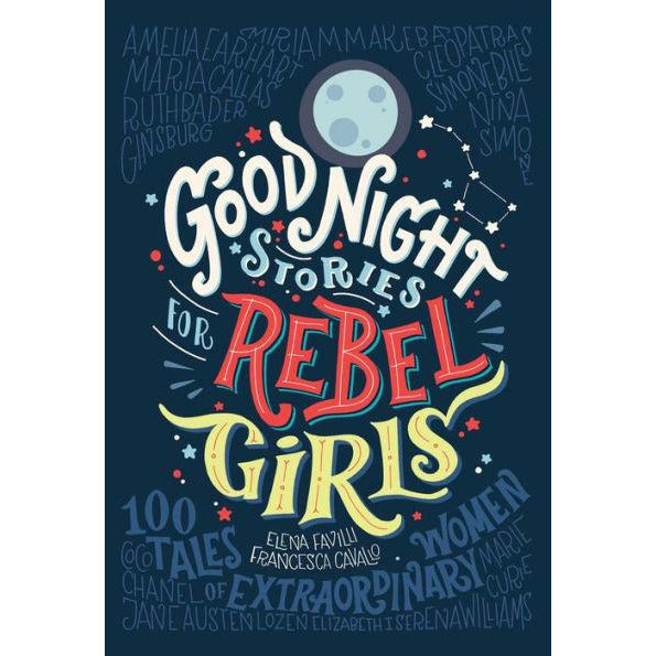 good night stories for rebel girls, feminism inspiration books for children, free shipping kodomo boston