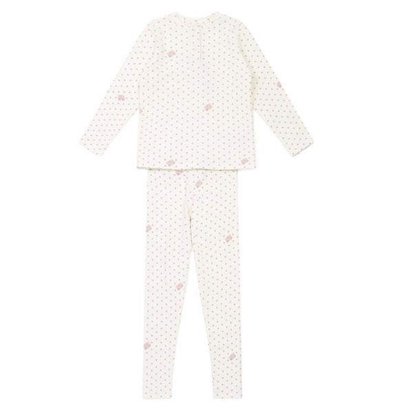 bonton loungewear set star pink, free shipping kodomo boston. pajama set for kids,