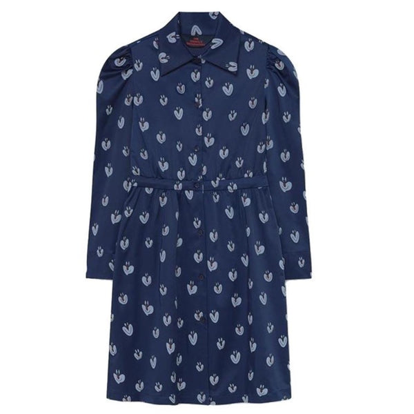 Kodomo Boston, The Animals Observatory Dolphin Kids Dress Clowns, Blue