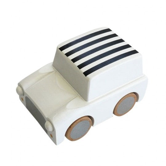 kukkia stripes/white kuruma car - kodomo wooden toys - children's clothing in boston, kukkia - bobo choses, atsuyo et akiko, belle enfant, mamma couture, moi, my little cozmo, nico nico
