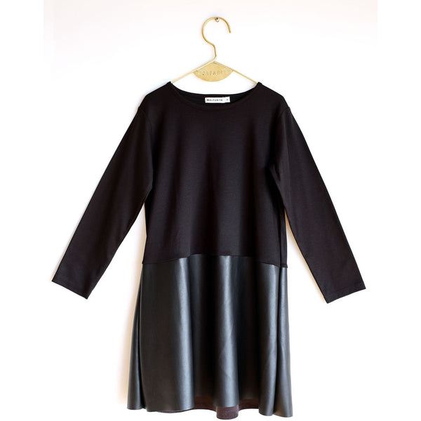 wolf & rita liliana black dress - kodomo