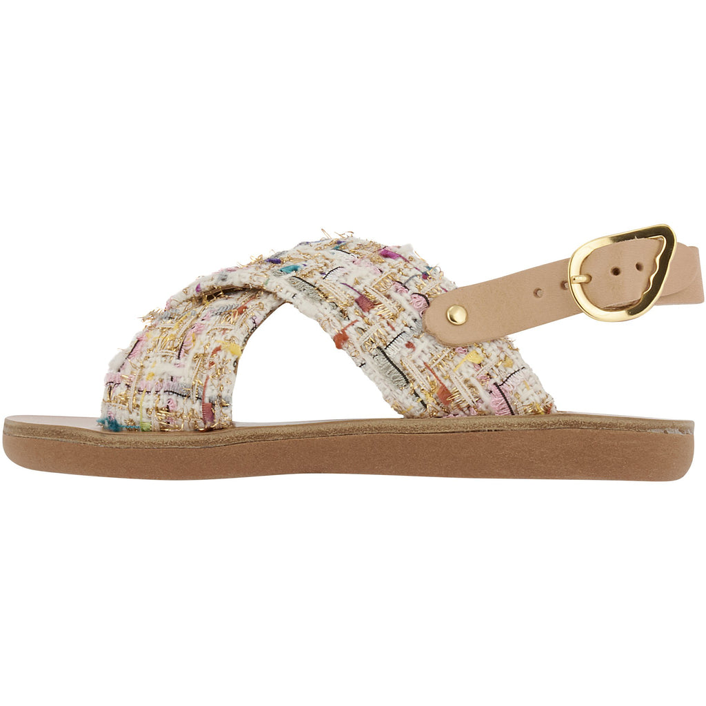 ancient greek sandals little maria tweed