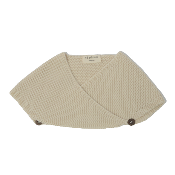 na pa ani lucia baby cape cream, babies knit tops sweaters