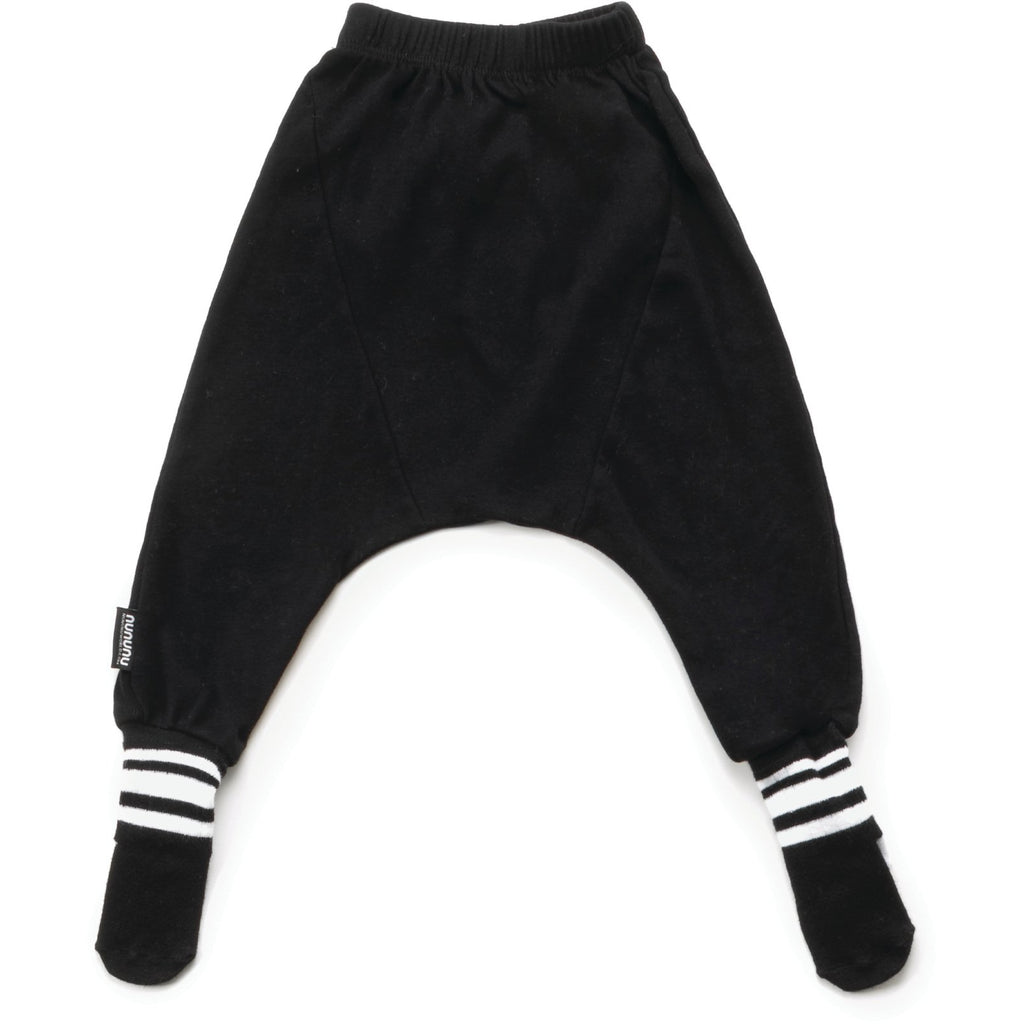 nununu footed pants black - kodomo