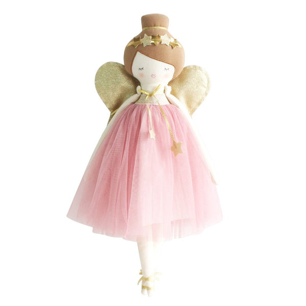alimrose mia fairy doll blush, soft dolls