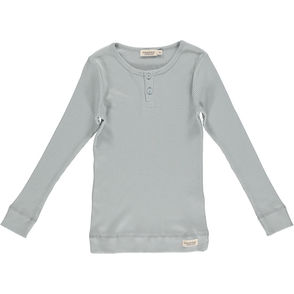 marmar copenhagen long sleeve t-shirt moondust blue - kodomo. free shipping. girls tops