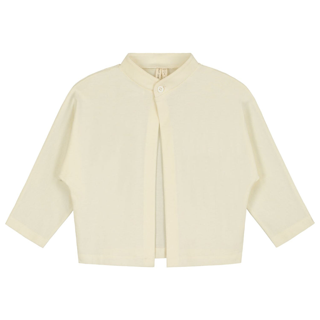 gray label new spring summer girls & baby collection one button cardigan in cream - free fast shipping on all orders over $99 from kodomo