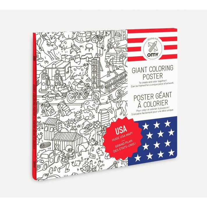 omy coloring posters at kodomo boston free shipping