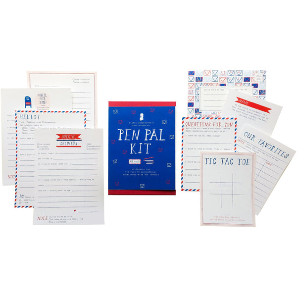 mr. boddington's studio pen pal kit, activities for kids while staying inside and social distancing from mr. boddington's studio at kodomo boston, fast shipping