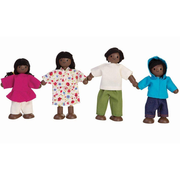 plantoys doll family african american, sustainable dolls for kids free shipping kodomo boston