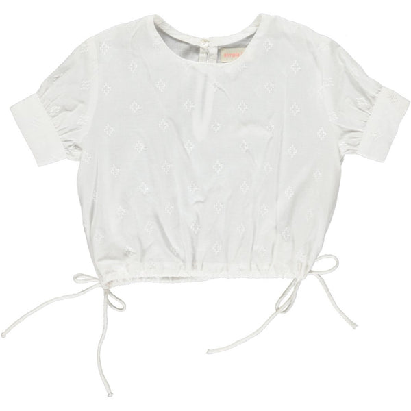 simple kids poppy top white, free shipping kodomo boston