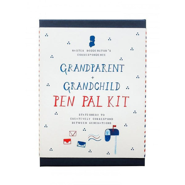 mr. boddingtons studio grandparent + grandchild pen pal kit