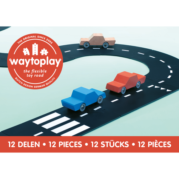 waytoplay toys ring road, kids play build your own car vehicle tracks, free shipping kodomo boston