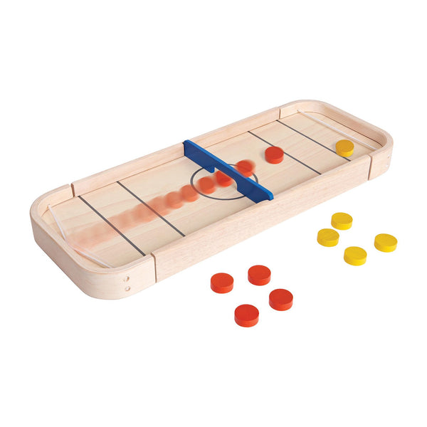 plantoys 2-in-1 shuffleboard game, interactive games for kids, stay at home toys for children at kodomo boston, free shipping