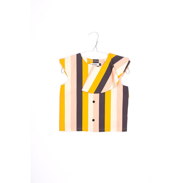 motoreta spring summer new collection. stella crop top multicolor stripes - kodomo boston free shipping