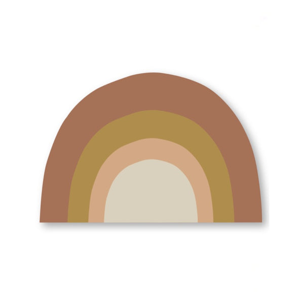 studio loco rainbow placemat, kids tableware