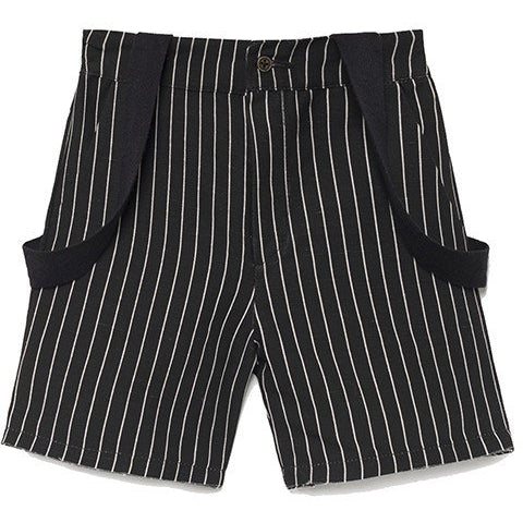 little creative factory tap baby shorts black - kodomo