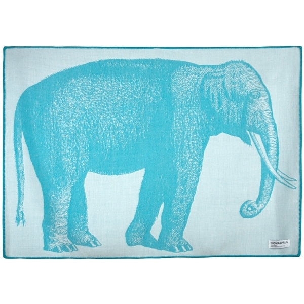 thomas paul baby elephant throw and stroller blanket