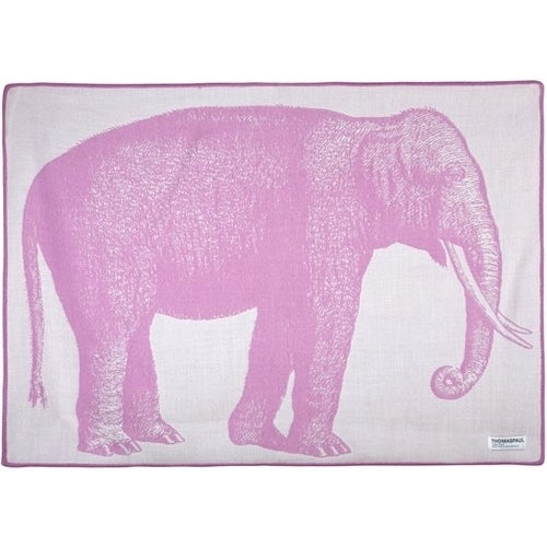 thomas paul elephant baby throw blanket