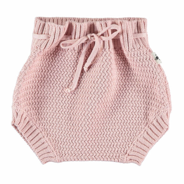 my little cozmo culotte knit soft pink - kodomo boston
