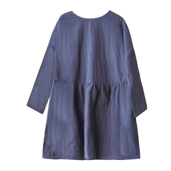 boy+girl una dress indigo - kodomo
