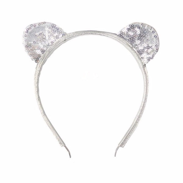 woodstock london silver sequins headband - kodomo