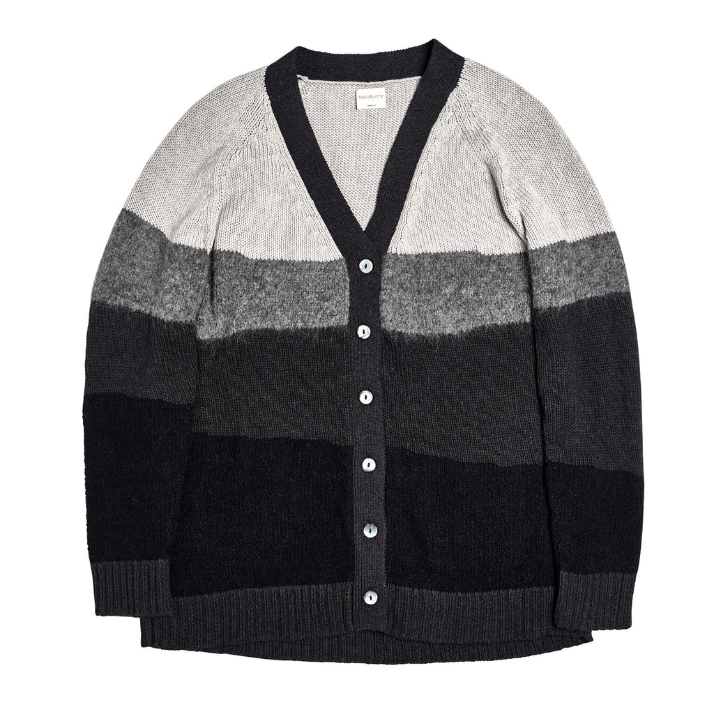 bacabuche strata cardigan adult black - kodomo tops - children's clothing in boston, bacabuche - bobo choses, atsuyo et akiko, belle enfant, mamma couture, moi, my little cozmo, nico nico