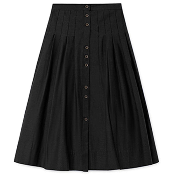 little creative factory horizon skirt black - kodomo