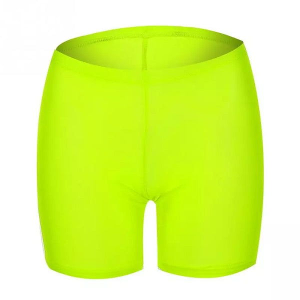 Neon Mesh Cycling Shorts