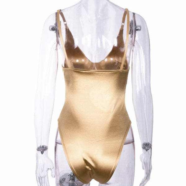 Gold Underwired Bodysuit