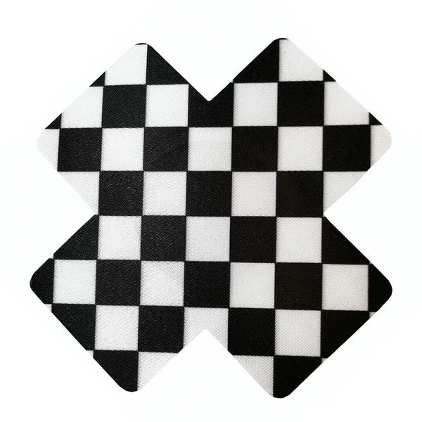 Checkerboard Nipple Covers