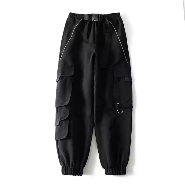 Reflective Piping Utility Trousers