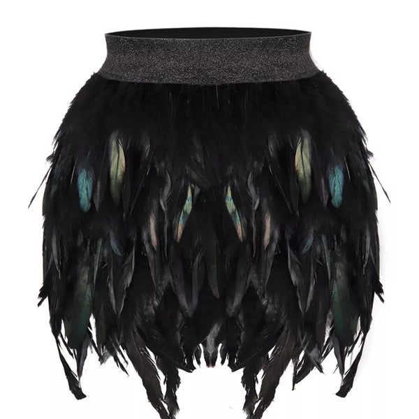 Mini Feather Skirt