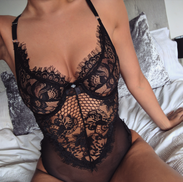 Lace Underwired Bodysuit
