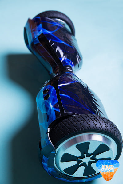 Blue Flame HoverBoard Decal Vinyl Wrap Skin Sticker