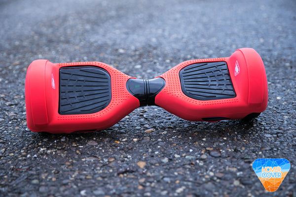 Silicone Hoverboard Protective Case Red Hover Cover